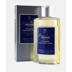 Bronnley Original Hydrating Hair & Body Wash Шампоан за коса и тяло за мъже 200 мл