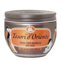 Tesori d'Oriente Fior di Loto Крем за тяло с аромат на лотос 300 мл