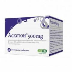 Аскетон при разширени вени и хемороиди 500 мг х96 таблетки Agetis