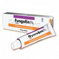 Фунгофин крем при гъбички 15 гр Nobel