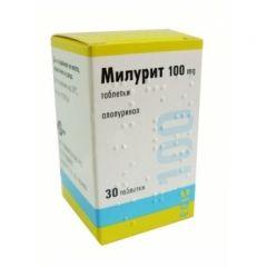 Милурит 100 мг х30 таблетки Егис