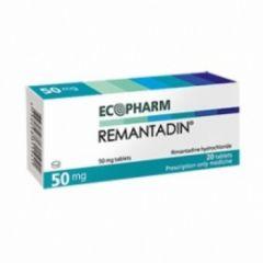 Remantadin 50 мг х20 таблетки Ecopharm