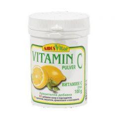 Amos Vital Витамин С на прах за висок имунитет х100 гр