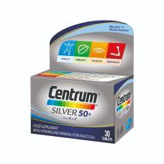 Centrum Silver 50+ A-Z Силвър Витамини и минерали за хора на възраст над 50 години х30 таблетки Pfizer