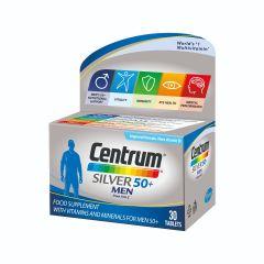 Centrum Silver Men 50+ A-Z Силвър Витамини и минерали за мъже х30 таблетки Pfizer