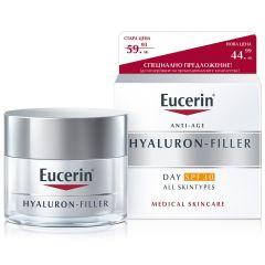 Eucerin Hyaluron-Filler Дневен крем за всеки тип кожа SPF30 50 мл