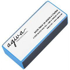 Agiva Professional Пила за нокти блок 4 стъпки