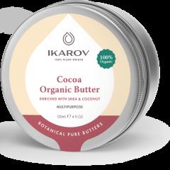 Ikarov Био масло за тяло какао, ший и кокос 120 мл