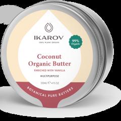 Ikarov Био масло за тяло кокос с ванилия 120 мл