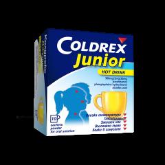 Coldrex Junior Hot drink Колдрекс при настинка и грип за деца х10 сашета GlaxoSmithKline