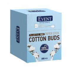 Event Cotton Buds Plastic Free Клечки за уши 300 бр