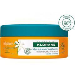 Klorane Polysianes Възстановяващ крем за лице и тяло с масло от монои 200 мл