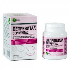 Депревитал за нормална психична функция 475 мг х 40 капсули Мирта Медикус