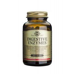 Solgar Digestive Enzymes  Храносмилателни Ензими подпомага храносмилането х100 таблетки