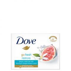 Dove Go Fresh Restore Овлажняващ крем-сапун за ръце, лице и тяло с екстракт от синя смокиня и портокалов цвят 100 гр