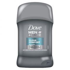 Dove Men+ Care Clean Comfort Стик против изпотяване за мъже 50 мл