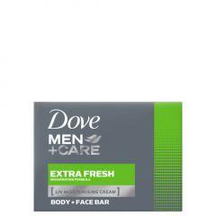 Dove Men+ Care Extra Fresh Хидратиращ крем-сапун за лице и тяло за мъже 90 гр