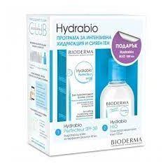 Bioderma Hydrabio Perfecteur Крем за дехидратирана чувствителна кожа SPF30 40 мл + Bioderma Hydrabio Мицеларен разтвор за дехидратирана кожа 100 мл Комплект