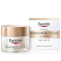 Eucerin Hyaluron-Filler + Elasticity Дневенкрем за всеки тип кожа SPF15 50 мл