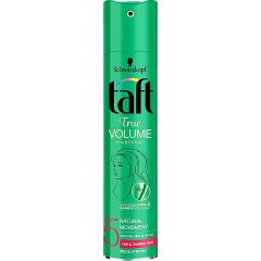 Taft True Volume Лак за коса за обем с мега силна фиксация 250 мл