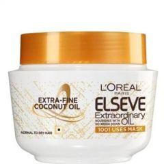 Elseve Extraordinary Oil Coconut Подхранваща маска за нормална към суха коса 300 мл