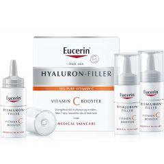 Eucerin Hyaluron-Filler Подмладяващбустер за лицес витамин С 3х8 мл
