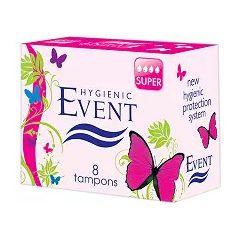 Event Super Дамски тампони размер Супер 8 бр