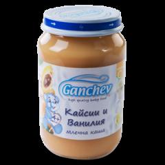 Ganchev Млечна каша с кайсии и ванилия 4М+ 190 гр