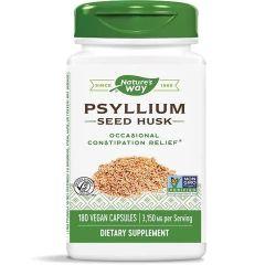 Nature's Way Psyllium Seed Husks Хуск за пречистване на храносмилателната система 525 мг х180 V капсули