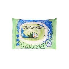 Bebelan Бебешки мокри кърпи алое и лайка х 24 бр