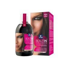 Beautin Collagen Бютин колаген с магнезий за здрава кожа, коса и нокти с вкус на ягода/ванилия х500 мл
