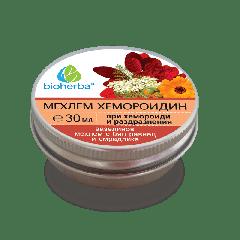 Bioherba Мехлем за Хемороиди с Бял равнец и Смрадлика 30 мл