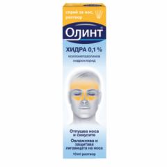 Олинт Хидра Спрей за нос 0,1% х10 мл McNeil