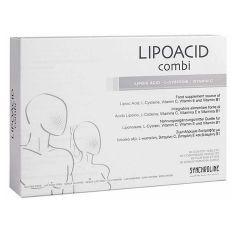 Synchroline Lipoacid Combi Липоацид Комби срещу бръчки х60 таблетки