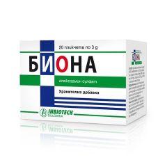 Биона Сашета за здрави стави 1500 мг х 20 бр Inbiotech