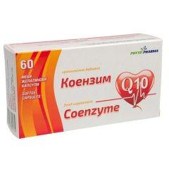 Коензим Q10 за сърцето х 60 капсули PhytoPharma