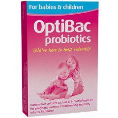 OptiBac Probiotics Babies & Children Пробиотик за бебета и деца 10 сашета