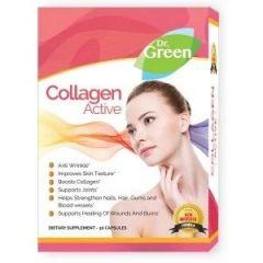 Collagen Active За здрави коса, кожа и нокти х30 капсули Dr. Green