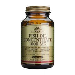 Solgar Fish Oil Рибено масло концентрат противовъзпалително и имуностимулиращо действие 1000 мг х60 капсули