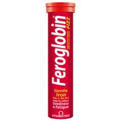 Vitabiotics Feroglobin B12 Fizz с желязо за нормална кръвотворна функция x 20 ефервесцентни таблетки