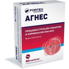 Fortex Агнес при предменструален синдром и хормонален баланс 132 мг x60 таблетки