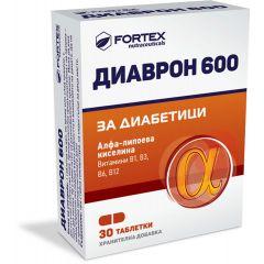 Fortex Диаврон 600 за диабетици x30 таблетки