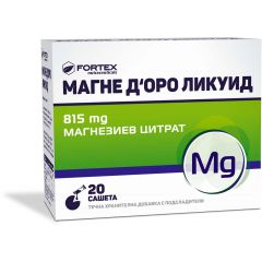 Fortex Магне Д'оро Ликуид 815 мг х20 сашета