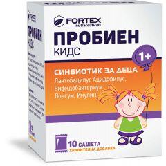 Fortex Пробиен кидс синбиотик за деца x10 сашета