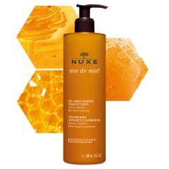Nuxe Reve de Miel Измиващ гел за лице и тяло за суха и чувствителна кожа 400 мл