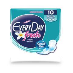 Everyday Fresh Normal Ultra Plus Дамски превръзки с крилца 10 бр