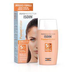 ISDIN Fotoprotector Fusion Water Слънцезащитен тониран флуид за лице SPF50 50 мл