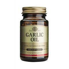 Solgar Garlic Oil Чесново масло за висок имунитет x100 капсули
