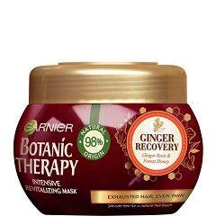 Garnier Botanic Therapy Ревитализираща маска за изтощена и слаба коса с джинджифил и мед 300 мл