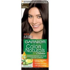 Garnier Color Naturals Трайна боя за коса, 3 Darkest Brown